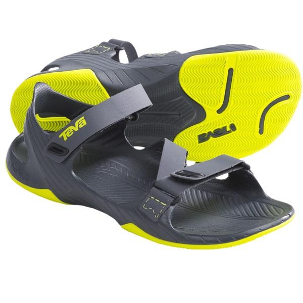 2cfaefabd3e9 Teva Barracuda Sport Sandals Minimalist (For Men) GREY (15 ) on ...