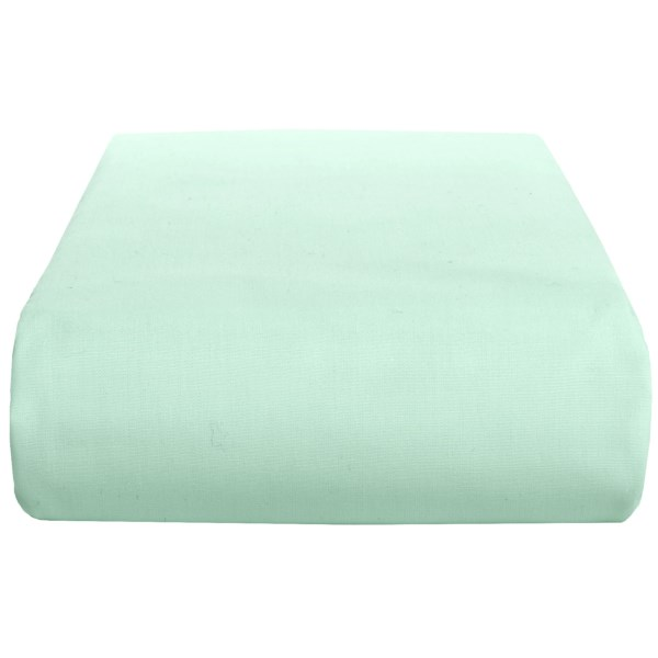 Chortex 200 TC Cotton Percale Solid Flat Sheet - Twin