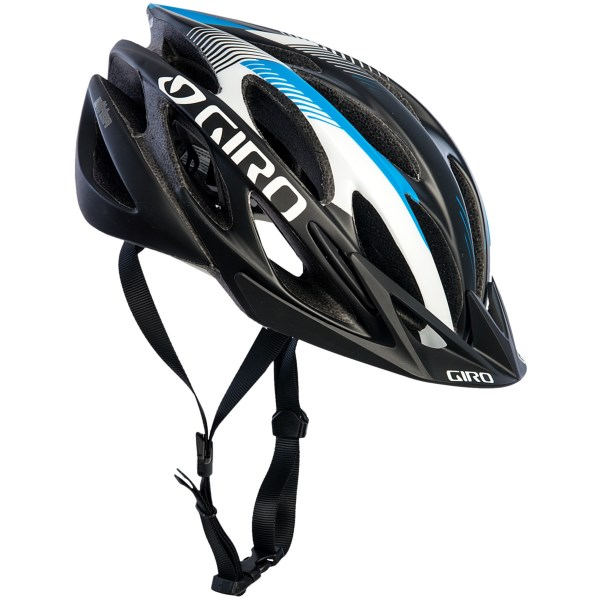 CLOSEOUTS . Giroand#39;s Athlon bike helmet is engineered for optimal protection and cool comfort during grueling climbs and high-speed descents. Wind Tunnel vents deliver serious cooling power, and the removable visor keeps the sun and branches out of your eyes. Available Colors: BRIGHT GREEN/BLACK, MATTE RED/BLACK, MATTE BLUE/BLACK, MATTE BLACK/WHITE. Sizes: M, S, L.