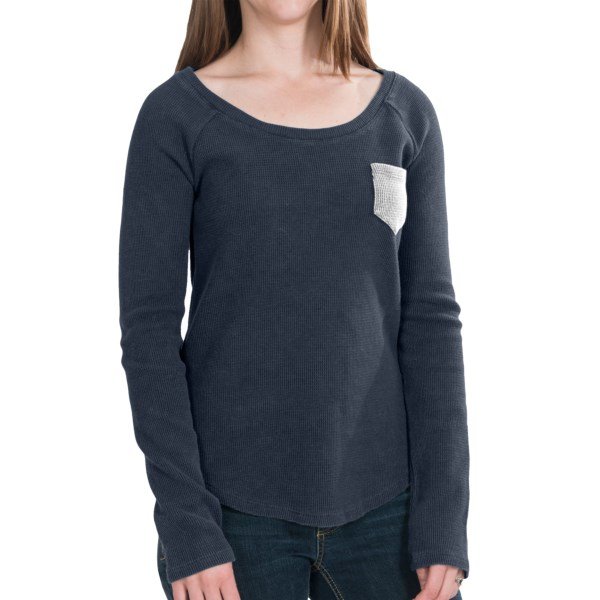 Threads 4 Thought Dusty Thermal Shirt - Organic Cotton Blend, Long Sleeve (for Women)