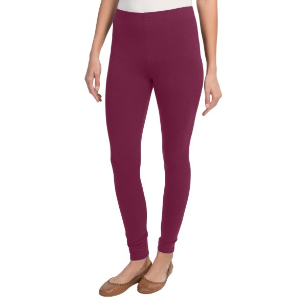 Threads 4 Thought Solid Leggings (For Women)