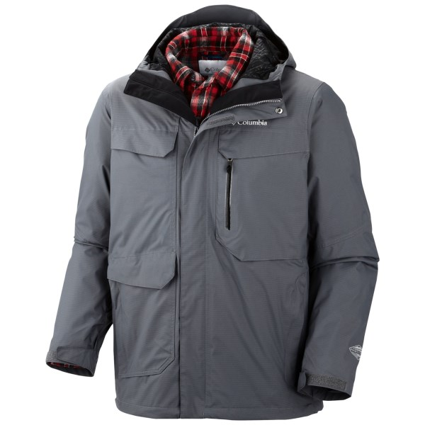Columbia Back to Hells Mountain Interchange Jacket