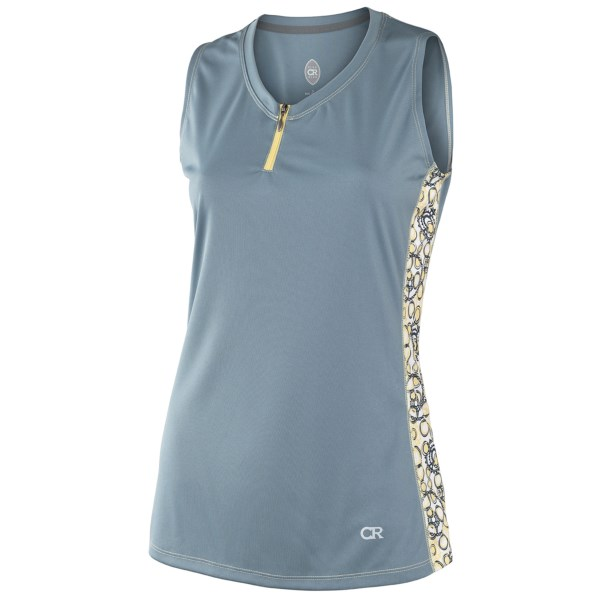Club Ride Tweet Cycling Jersey - Zip Neck, Sleeveless (For Women)