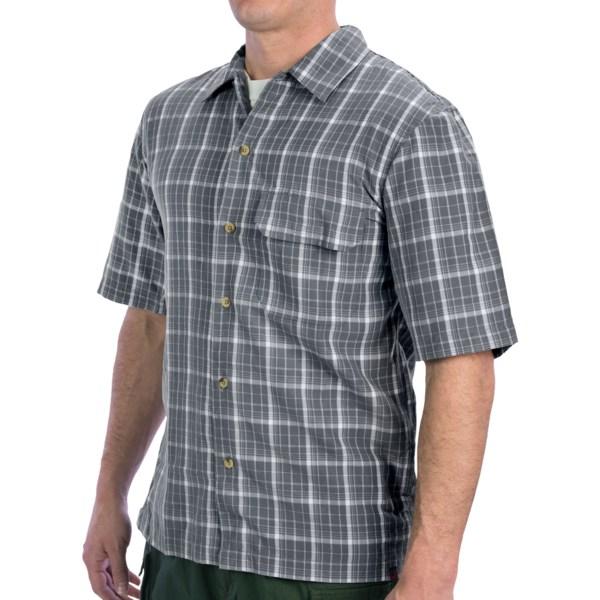 Woolrich Elite Discreet Carry Button-up Shirt - Upf 30 , Short Sleeve (for Men)
