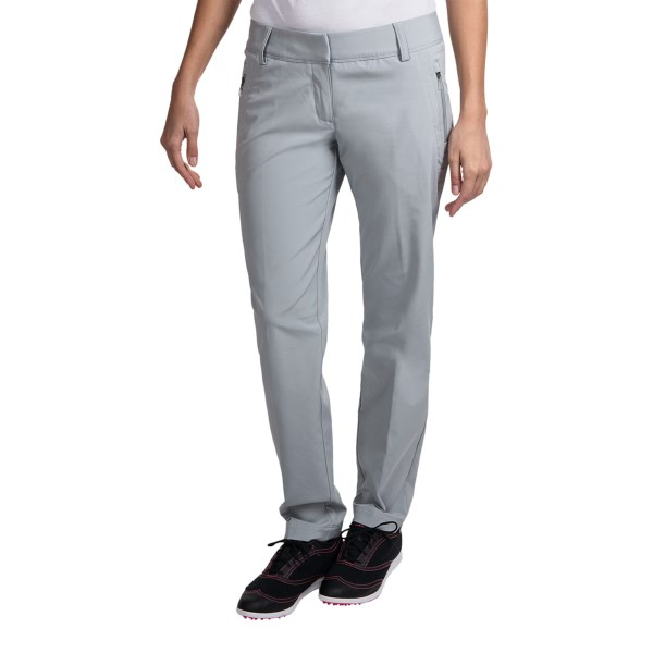 Adidas Golf ClimaLite(R) Fall Weight Pants Flat Front (For Women)