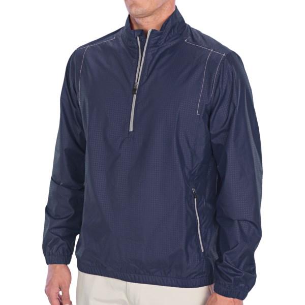 Adidas Golf ClimaProof Wind Pullover - Zip Neck, Long Sleeve (For Men)
