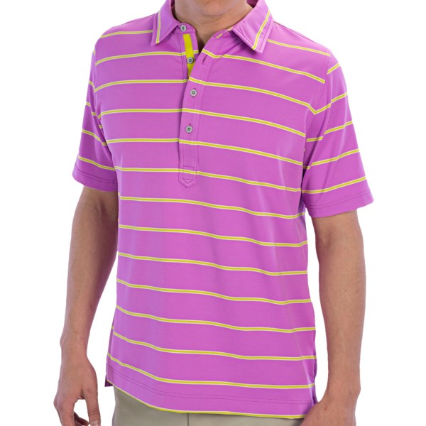 Zero Restriction Tiger Polo Shirt - Short Sleeve (For Men)