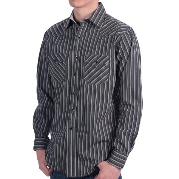 Rancho Estancia Roped Stripe Western Shirt - Long Sleeve (For Men)