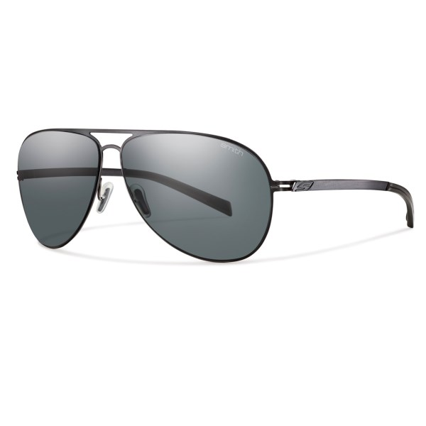 CLOSEOUTS . The ultralight stainless steel aviator frames of Smith Opticsand#39; Ridgeway sunglasses appeals the minimalist in you, and glare-cutting polarized Carbonic TLT lenses satisfy the part of you that wants it all. Available Colors: BROWN/POLAR, MATTE PURPLE/POLAR BROWN, MATTE GOLD/POLARIZED GRAY GRADIENT, MATTE SILVER/POLARIZED PLATINUM.