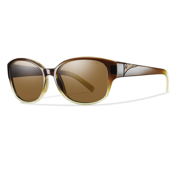 CLOSEOUTS . Smith Opticsand#39; Lyric sunglasses feature sleek frames that can be described as andquot;refined-retroandquot;, perfectly complemented by the glare-cutting performance of polarized Carbonic TLT lenses. Available Colors: HONEY/POLARIZED BROWN GRADIENT, BLACK/POLARIZED GRAY, ROOT BEER FADE/POLARIZED BROWN.