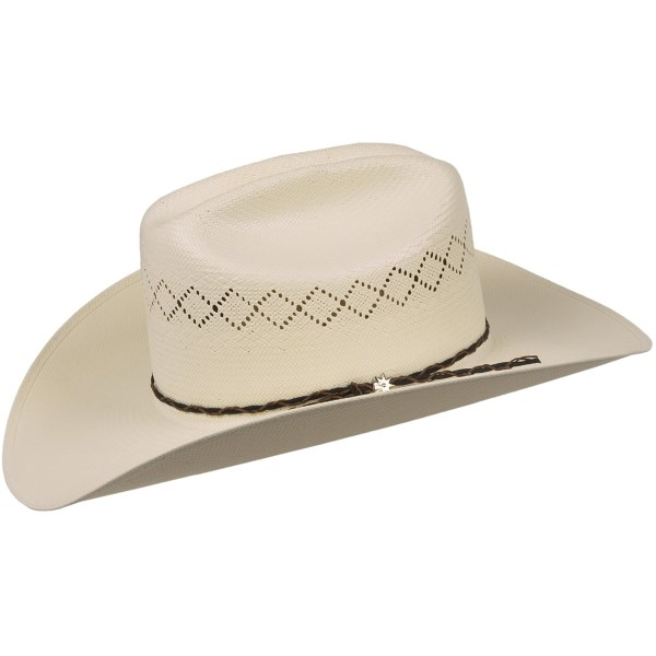 Bailey Holt Cowboy Hat - 20X Straw, Cattleman Crown (For Men and Women)