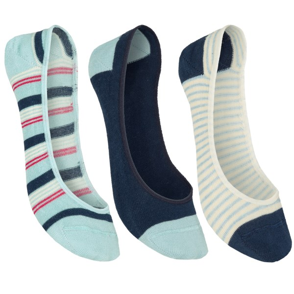 Pact No-see-um Socks - Lightweight, Organic Cotton, 3-pack (for Women)
