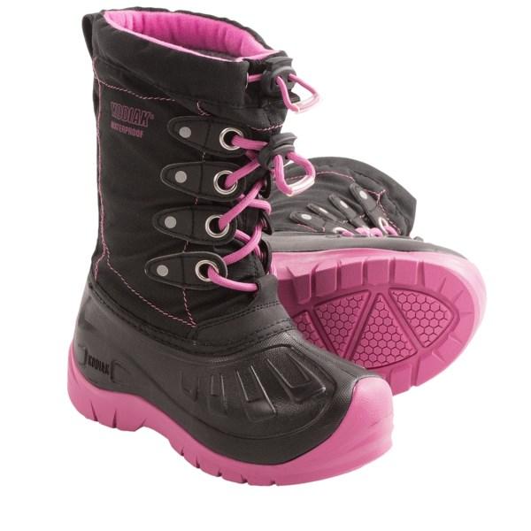 Kodiak Glo Cali Snow Boots - Waterproof (For Girls)