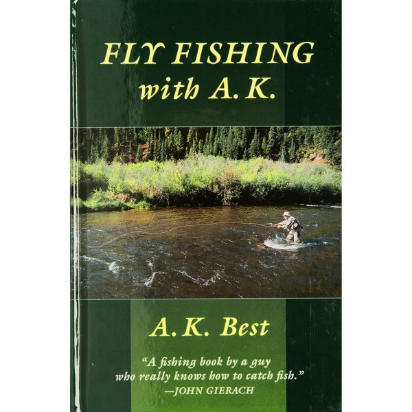 CLOSEOUTS . Learn fly fishing from the best in Stackpole Booksand#39; Fly Fishing with A.K. book. Author A.K. Best shares his wealth of knowledge and experience through a variety of tips and techniques in this illustrated and detailed fly-fishing guide. Available Colors: SEE PHOTO.