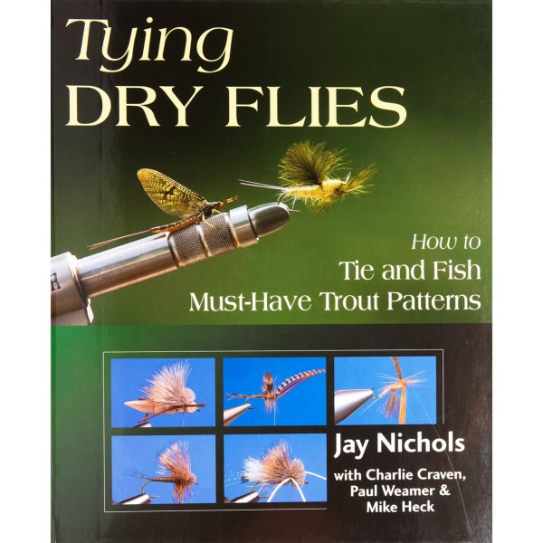 CLOSEOUTS . Beginner and expert fly tyers will find a variety of helpful tying techniques and must-have patterns in Stackpole Booksand#39; Tying Dry Flies book. The spiral binding allows the book to lie flat as you follow the helpful instructions inside. Available Colors: SEE PHOTO.