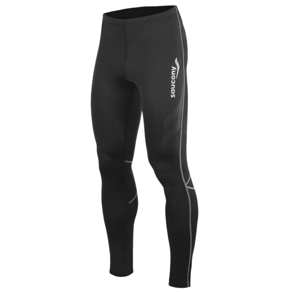 CLOSEOUTS . Jump-start your recovery with Sauconyand#39;s AMP Pro2 compression tights, which boast the benefits of specially formulated Celliantand#174; fibers, articulated seams and a compressive fit. Available Colors: BLACK, 01. Sizes: S, M, L, XL, 2XL.