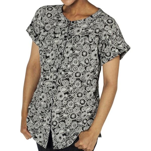 ExOfficio Next-to-Nothing Hanja Shirt - Short Sleeve (For Women)