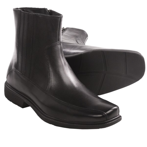 Rockport Treyson Side Zip Boots - Leather (For Men)