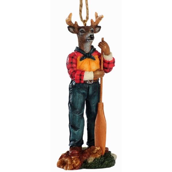 Outside Inside Gifts Gentleman Buck Ornament