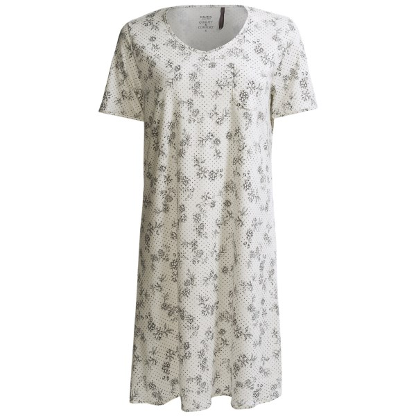 Calida Nora Big Shirt - Short Sleeve (For Women)