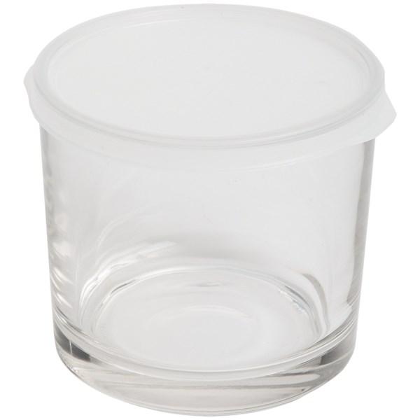 Bormioli Rocco Frigoverre Food Storage Container - Glass, Tall Round