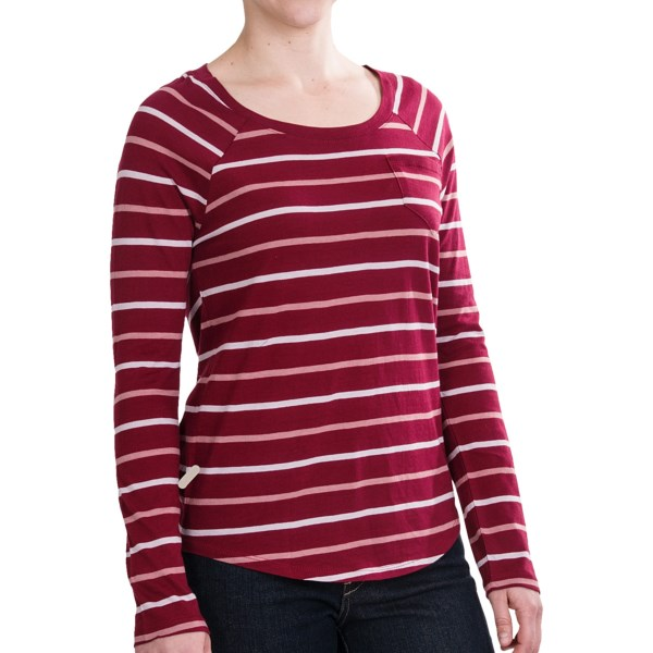 Threads 4 Thought Dusty Stripe Shirt - Long Sleeve (for Women)