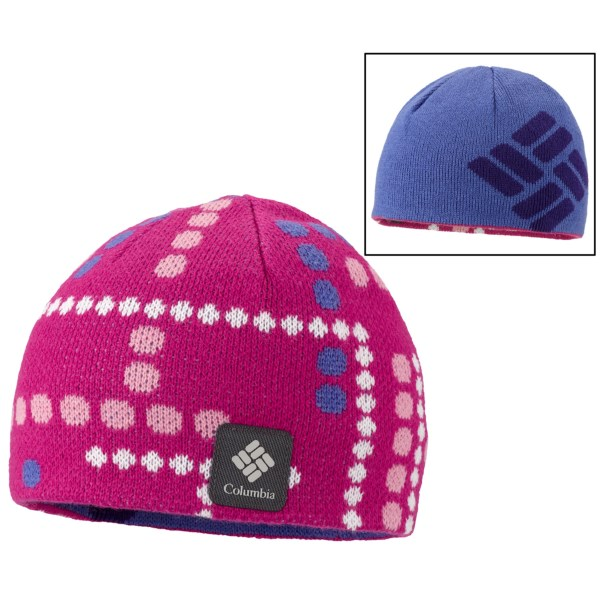 a43e46cfe53bf Columbia Sportswear Urbanization Mix Beanie Hat Reversible (For Toddlers)  HYPER PURPLE (O