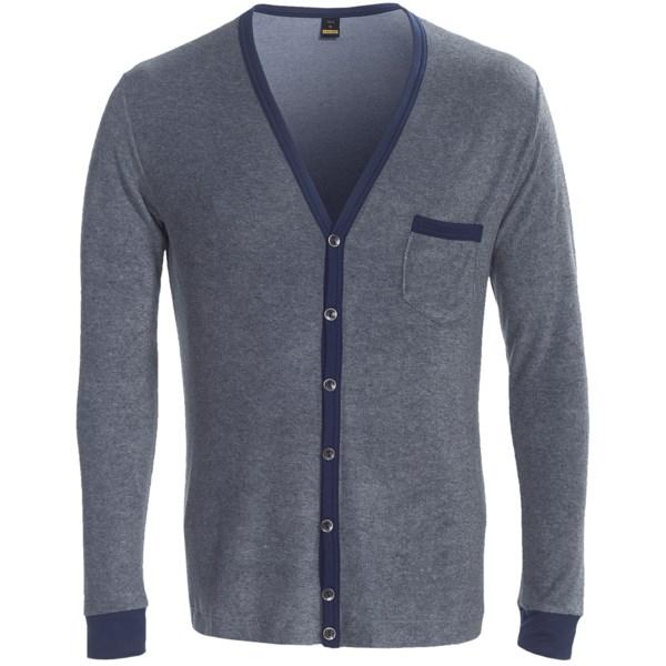 Calida Sascha Cardigan Sweater - Cotton Terry (For Men)
