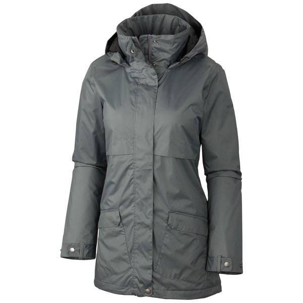 Columbia Sportswear Precipitation Nation Rain Jacket (For Plus Size Women)