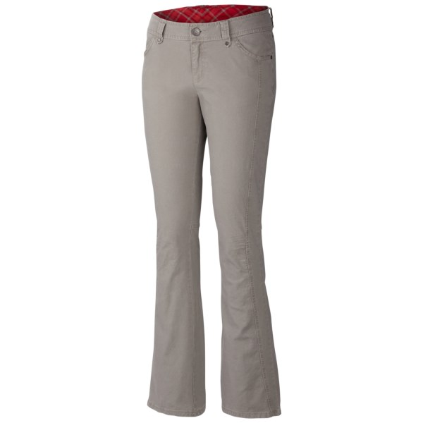 CLOSEOUTS . Make downtown avenue your runway and show off Columbia Sportswearand#39;s Original Avenue II pants, with a bootcut leg and built-in UPF 50 sun protection. Available Colors: KETTLE, BLACK, GRAVEL. Sizes: 2, 4, 6, 8, 10, 12, 14, 16.