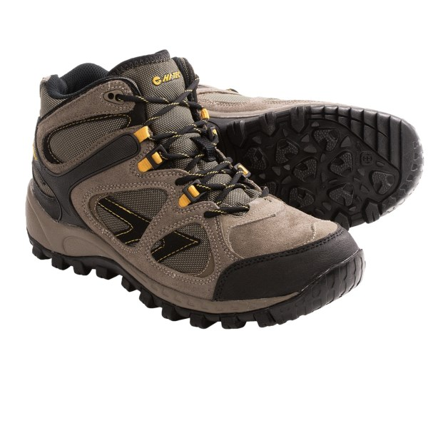 Hi Tec Globetrotter Mid Hiking Boots Waterproof (For Men)