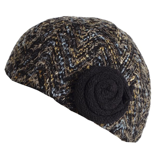 CLOSEOUTS . Up your style game this chilly season in ExOfficioand#39;s Rozeta beanie hat, all done up in a colorfully knit exterior with plush rosette accent on the band. Available Colors: MIDNIGHT, BLACK. Sizes: O/S.