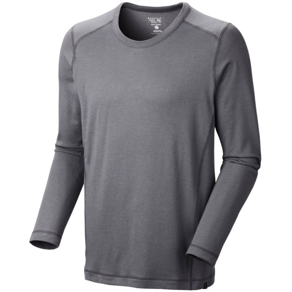 Mountain Hardwear Trekkin Thermal Crew Shirt -  UPF 15, Long Sleeve (For Men)