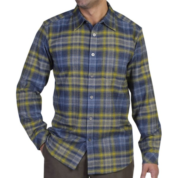 ExOfficio Viajo Flannel Shirt - Button-Up, Long Sleeve (For Men)