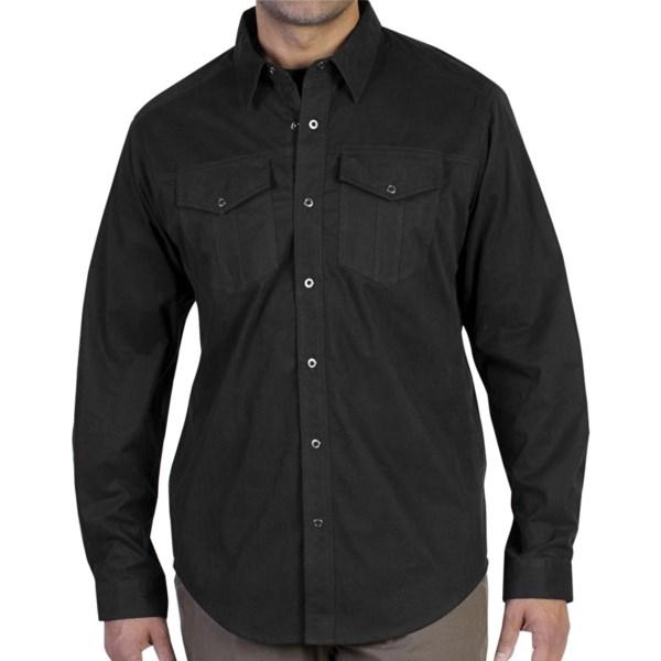 ExOfficio Ansel Canvas Shirt - Long Sleeve (For Men)