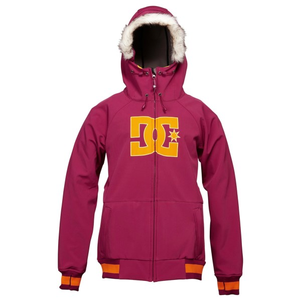 DC Shoes Gamut 14 Snowboard Soft Shell Jacket - Waterproof (For Women)