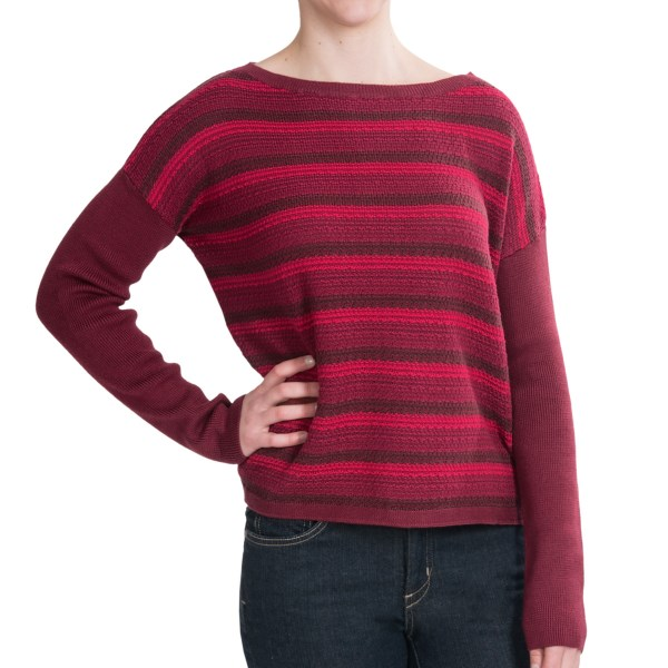 Woolrich Arcana Sweater - Boat Neck (for Women)