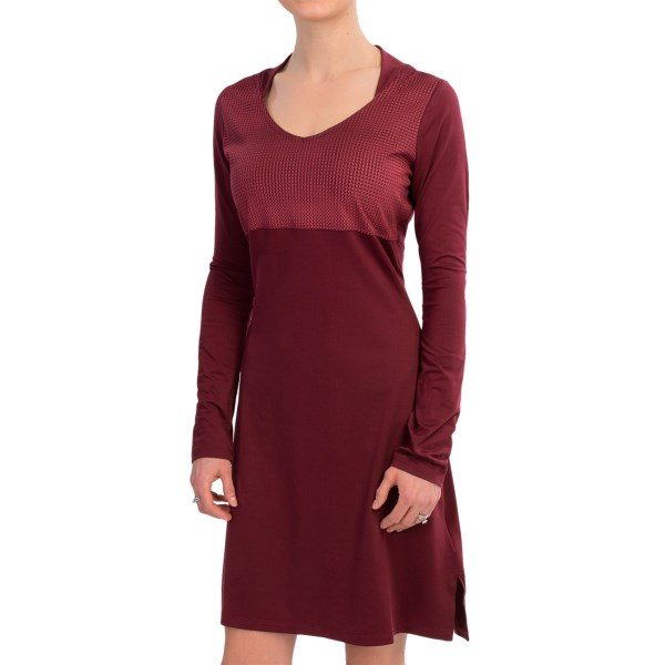 Mountain Hardwear Butter Jersey Dress - Long Sleeve (For Women)