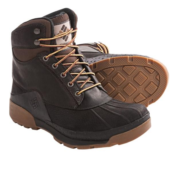 Columbia Sportswear Bugaboot Plus Omni-heat Mens Waterproof Winter ...