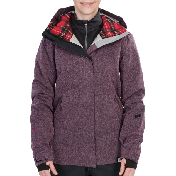 CLOSEOUTS . Ride in style, warmth and comfort with Ride Snowboardsand#39; Northgate jacket. It feature shell fabric with critical seams sealed, warm insulation and mesh-lined pit zips for all-day protection from the elements. Available Colors: CRANDENIM, BLACK, CHALK VIOLET. Sizes: XS, S, M, L, XL.