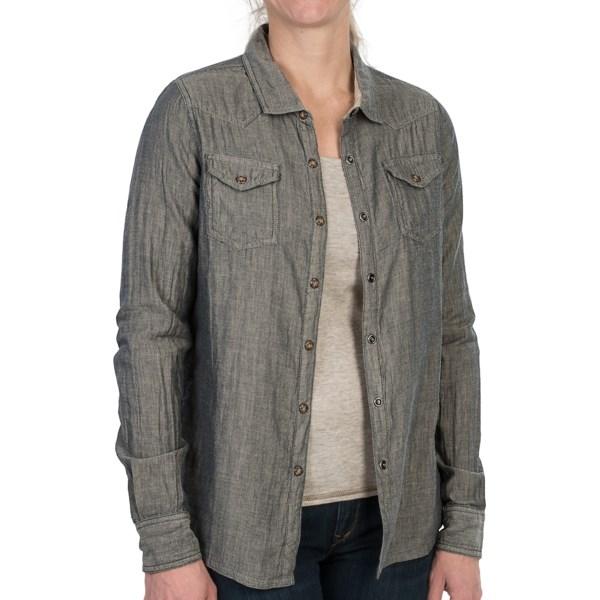 Gramicci Didra Shirt - Cotton Gauze, Long Sleeve (For Women)