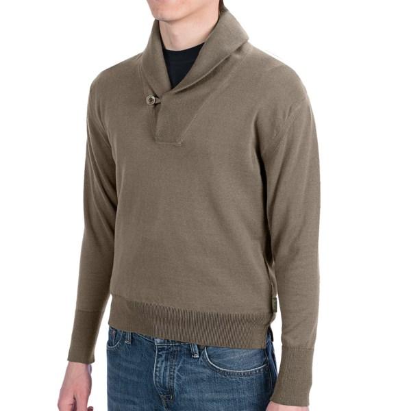 Woolrich Impasse Sweater - Shawl Collar (For Men)