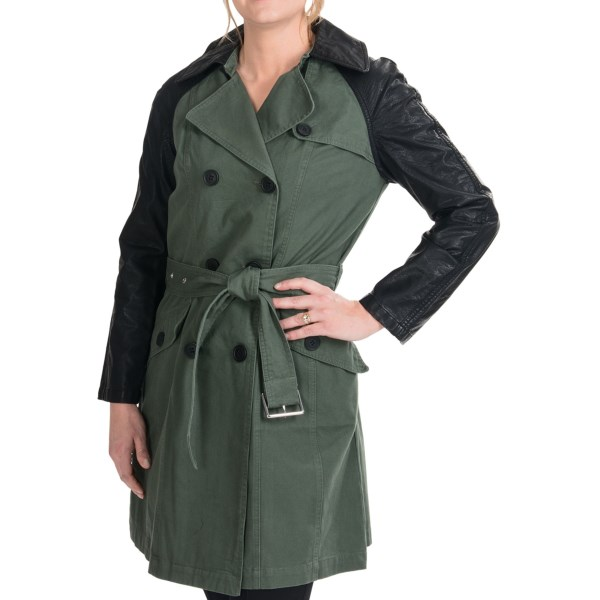 Marc New York by Andrew Marc Carli Vintage Canvas Coat (For Women)
