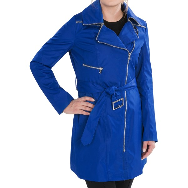 Marc New York by Andrew Marc Rue City Rain Coat - Belted (For Women)
