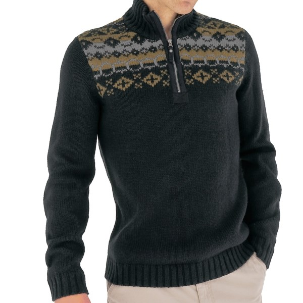 CLOSEOUTS . When you find a sweater like Royal Robbinsand#39; Nepal Novelty sweater, you keep it around for years -- and, since itand#39;s crafted of warm, durable, and soft Nepal Heavy Gauge yarn, itand#39;s sure to last you many! Available Colors: JET BLACK, TIMBER. Sizes: S, M, L, XL, 2XL.