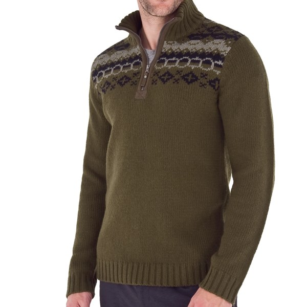 Royal Robbins Nepal Novelty Sweater - Zip Neck (For Men)
