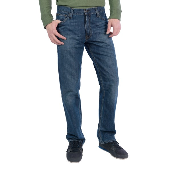 CLOSEOUTS . A great-fitting, everyday favorite -- thatand#39;s JKLand#39;s Classic Straight Fit jeans, made of durable cotton-poly denim with stylish whisker details and comfortable, easy-wearing fit. Available Colors: DARK STONE.