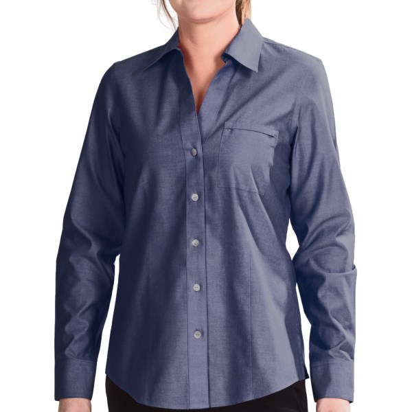 CLOSEOUTS . Offering superb quality at a great value, Foxcroft shirts (especially the no-iron variety) have been extraordinarily popular among our customers. So donand#39;t waste time ordering from a rainbow of colors while they last! Available Colors: CANARY, CHINA BLUE, PRIMROSE, ROBINS EGG, WHITE, SOFT PLUM, CARDINAL, PISTACHIO, CLASSIC NAVY. Sizes: 4, 6, 8, 10, 12, 14, 16, 18.