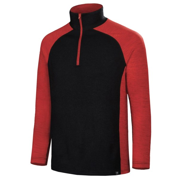 Neve Independence Base Layer Top - Zip Neck, Long Sleeve (For Men)