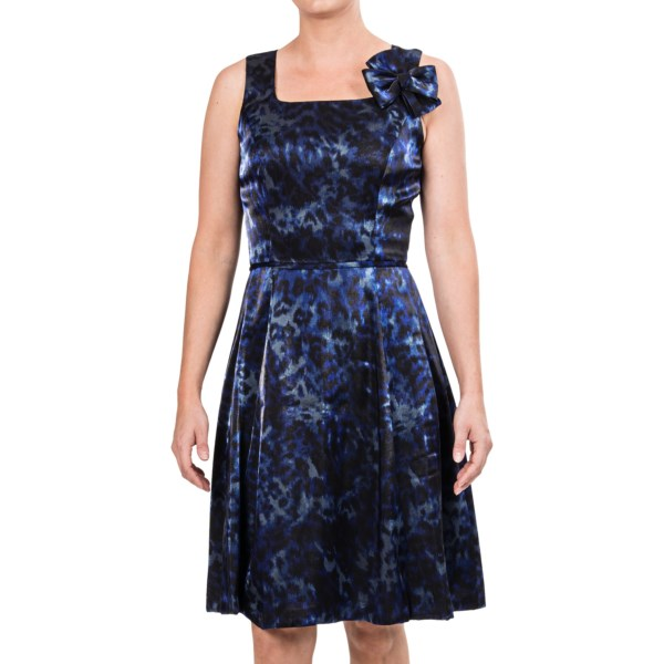 Chetta B Fit and Flare Dress - Sleeveless (For Women)